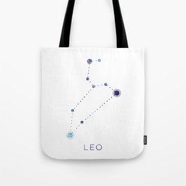 LEO STAR CONSTELLATION ZODIAC SIGN Tote Bag