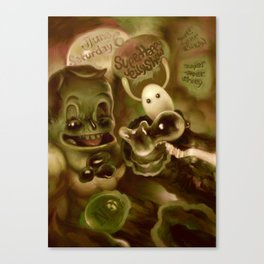 Super Happy Jelly Show Canvas Print