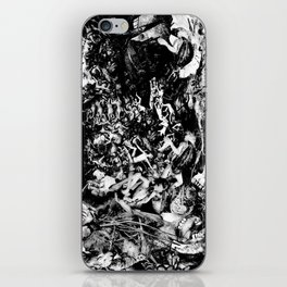 Smoldering in the Blackest Caverns iPhone Skin