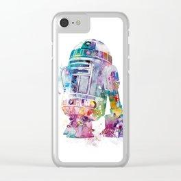 R2-D2 Clear iPhone Case