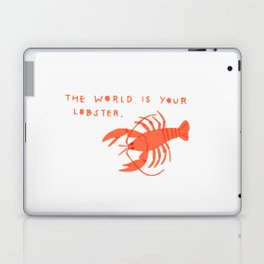 The World is Your Lobster Laptop & iPad Skin