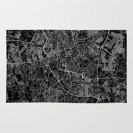 Jakarta Black Map Rug