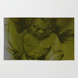 Evil Cupid (Yellow) Rug