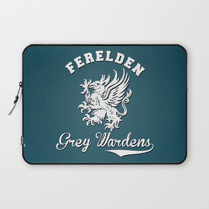 Dragon Age Ferelden Grey Wardens Laptop Sleeve By Firlachiel