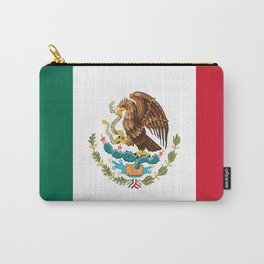 mexican sports fan mexico flag Carry-All Pouch