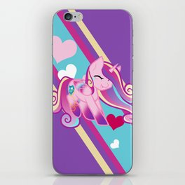 Miniature Rainbow Powered Princess Cadence iPhone Skin