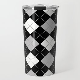 Checkered background Travel Mug