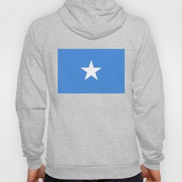Somalian national flag - Authentic color and scale (high quality file) Hoody