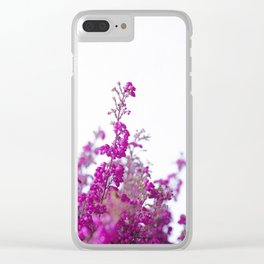 Heather flower #2 #decor #art #society6 Clear iPhone Case