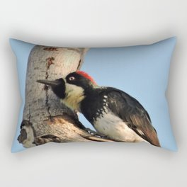 Did You Say HAWK? Rectangular Pillow