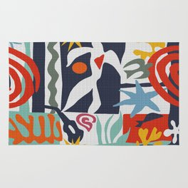 Inspired to Matisse Rug