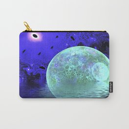Aqua Bubble Scape Carry-All Pouch