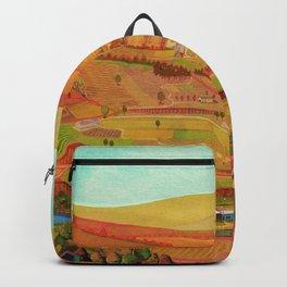 summer landscape Backpack