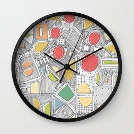 RAZZ ZIP Wall Clock