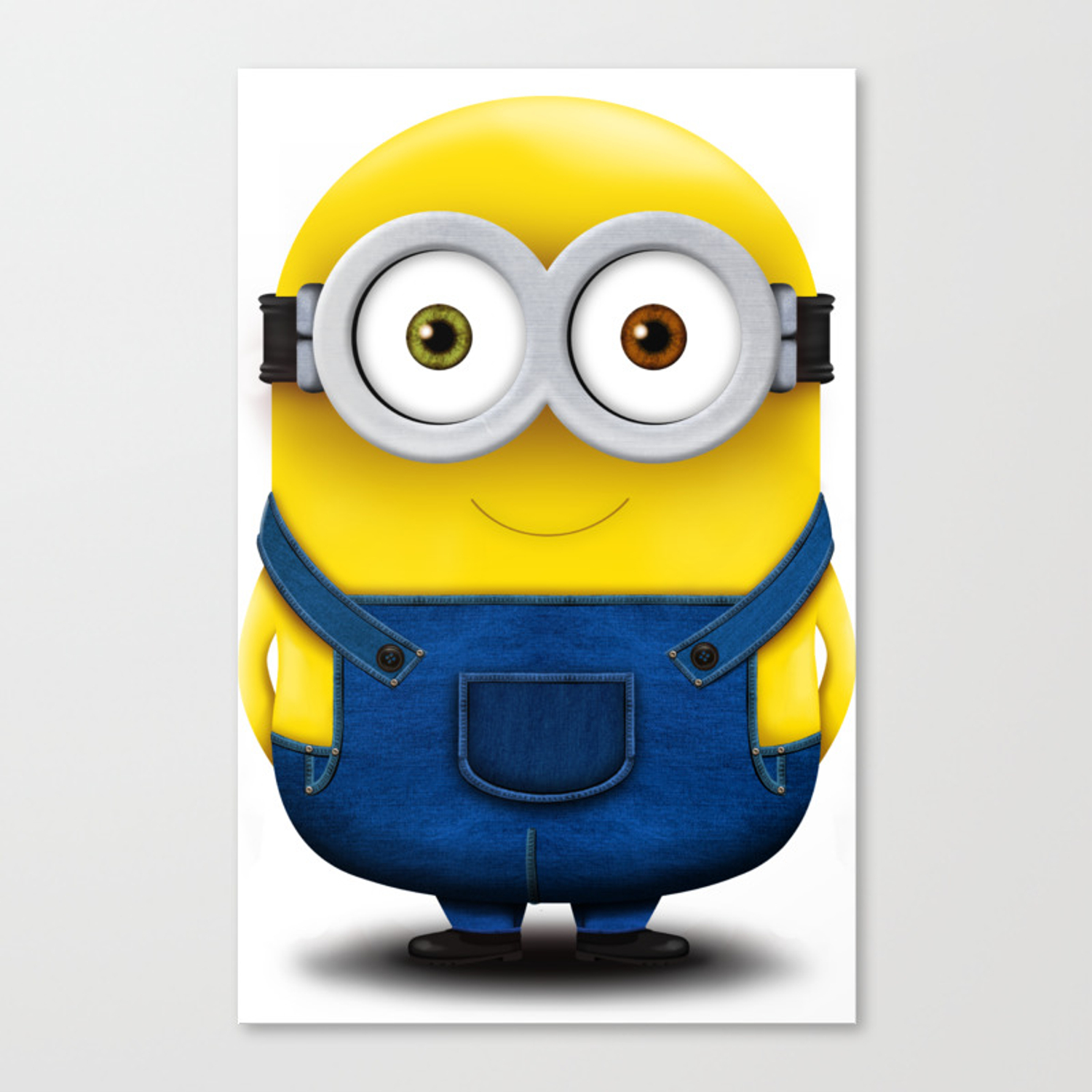 Minion Bob Canvas Print By Melallevopuesta Society6