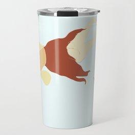 Reverse Mermaid (Minimalist Version) Travel Mug