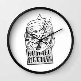 nothing matters Wall Clock