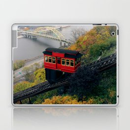 An Autumn Day on the Duquesne Incline in Pittsburgh, Pennsylvania Laptop & iPad Skin