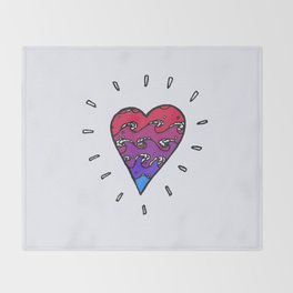 my heart's an autoclave Throw Blanket
