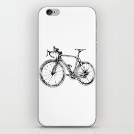Wooden Bicycle iPhone Skin
