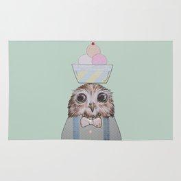The Ice-Cream Owl Rug
