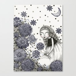 Summer's Night Canvas Print