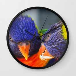 Feed me !! Wall Clock