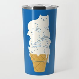 Cats Ice Cream Travel Mug