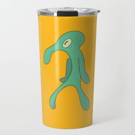 Bold And Brash Painting Travel Mug