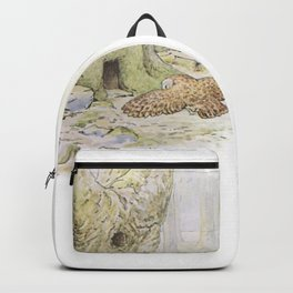 Owl and a Tree House Backpack