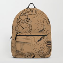 Lifestyle Pattern Backpack