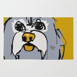 Lulz - gray/yellow Rug