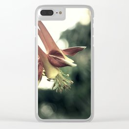 Western Columbine (Aquilegia Formosa) Clear iPhone Case