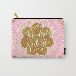 Fancy Words: Kindly Fuck Off Carry-All Pouch