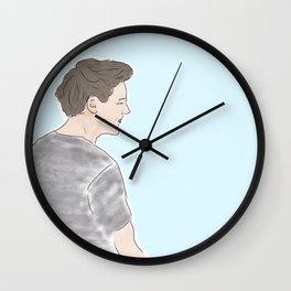 Scrunchy Wall Clock