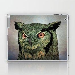 Owl - Red Eyes Laptop & iPad Skin
