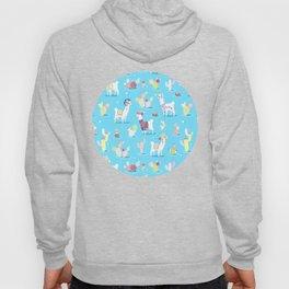 Alpaca Pattern Hoody