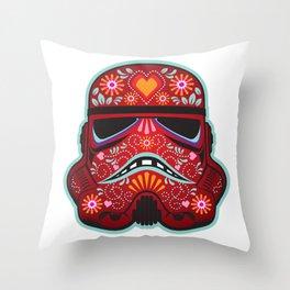 Sugar Trooper 2 Throw Pillow