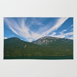 The Way to Valhalla - Lake Slocan, BC, Canada Rug