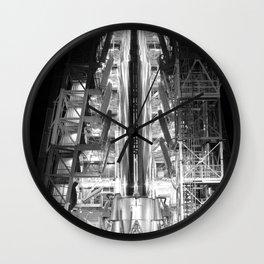 Big Joe Ready for Launch at Cape Canaveral Wall Clock
