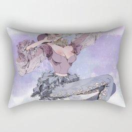 Violet Paris Rectangular Pillow