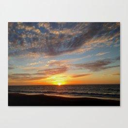 West Oz Sunset Canvas Print
