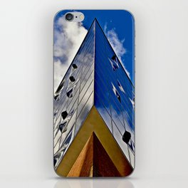 When music touches the blue sky iPhone Skin