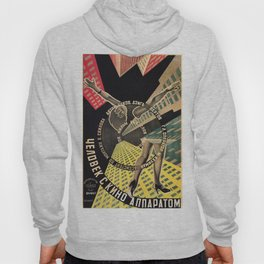 Man with a Movie Camera, vintage movie poster, 1929 Hoody