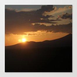 Smith Rock Sunrise Canvas Print