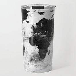 world map marble 3 Travel Mug