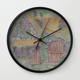 Little House Wall Clock