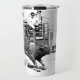 Rodeo Bull Riding Champ Travel Mug