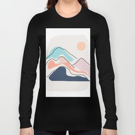 Minimalistic Landscape III Long Sleeve T-shirt
