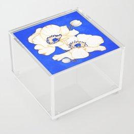 Ultramarine Blue :: Anemones Acrylic Box